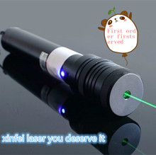 JSHFEI green 532nm Focus Burning red Laser Pointer Adjustable wholesale lazer