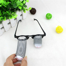 Pop Out Eye Drop Eyeball Prank Glasses Horror Scary Party Gags Practical Jokes Funny Toy xdd