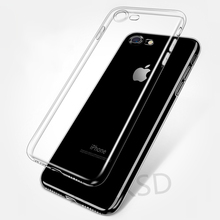 Buy Original Brand Clear TPU Silicone Cases iPhone 8 Case Luxury Transparent Slim Case iPhone 7 6 6s X 5 SE 5s Plus Case for $1.18 in AliExpress store