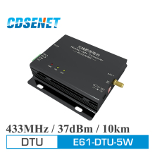 433 MHz Long Distance 10km Wireless Data Transmission 5w Power CDSENET E61-DTU-5W RS232 RS485 Interface Serial Port rf Module(China)