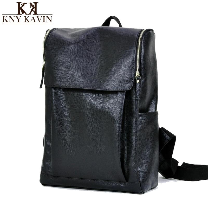 Men Laptop Backpack Mochila School bag Mans Backpacks Mens Luggage &amp; Travel bagsFashion Bag Men Leather Backpack<br><br>Aliexpress