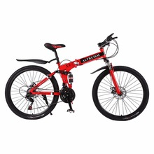 Altruism X9 Mens Womens mountain bike 21 speed Steel Gear shift 26 Inch Double Disc Brakes Bicycles Road Cycling Riding(China)