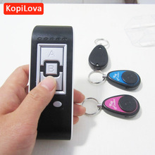 KopiLova 10pcs Wireless Electronic Key Finder Key Reminder With 3 Key Chain Receivers For Lost Keys Locator Key Finder