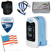 USA Shipping CMS50N Pulse Oximeter Fingertip blood oxygen saturation, SpO2,PR monitor,OLED(China)