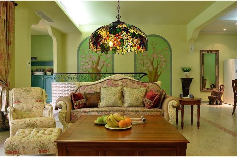 Tiffany hanging lamp light (9)