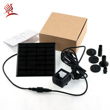 1set Hight Quality Garden Plants Sun plants watering outdoor Solar Power Fountain Pool Water Pump Hot Worldwie(China)