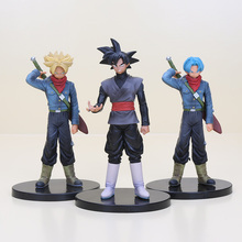 18cm Dragon ball Z DBZ DXF Trunks Goku Black PVC Action Figure Model Toys Dolls Vol.2