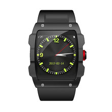 2017 newest smart watch for mobile phones sport Ride Climbing running with Tracker Device GPS bluetooth music phone watch(China)