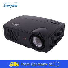 Free tax Everycom X9 LED HD Projector 1280*800 3500 Lumens Beamer LCD Projector TV Full HD Video Home Theater HDMI/VGA/ AV/ATV