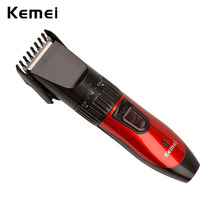 Kemei Man Electric Beard Hair Trimmers Electric Hair Clipper Rechargeable Professional Cutting Haircut Styling Tools