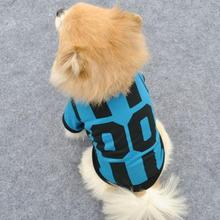 Breathable Dogs Vests World Cup Soccer Jersey For Dog Puppy Outdoor Sportswear Football Clothes For Pet(China)