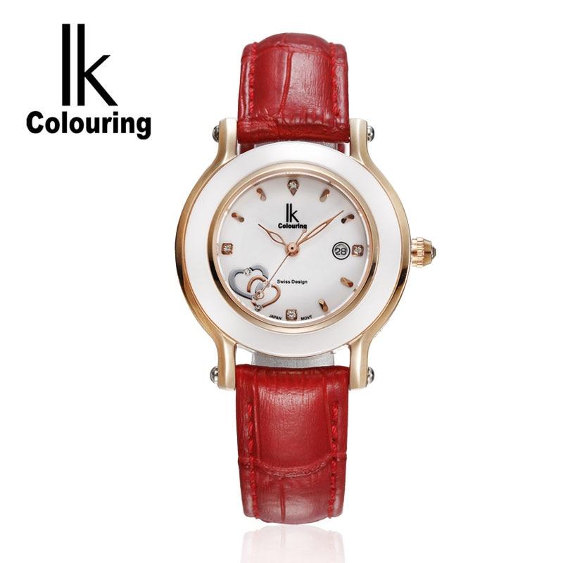 luxury Fashion Womens watches quartz watch bracelet wristwatches leather  bracelet women watches with Gift Box<br>