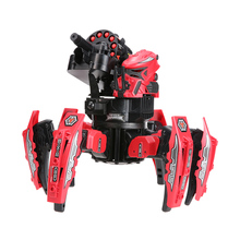 KEYE Toys 9006-1 2.4G Remote Control Space Warrior DIY Assemble Battle Robot RC Car Toy RC Robots for Children Adults