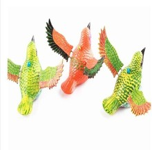2014 new pull toys for kids pull a bird toys for children 10PCS/LOT free shipping(China)