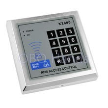 Door Access Control Keypad RFID ID Cards Proximity Reader with 10 Key Fobs for Home Offices Security System(China)