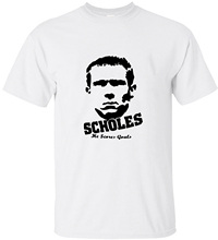 Summer Paul Scholes Jerseys In United Kingdom New T Shirt Manchester Portrait Printing T-shirt(China)