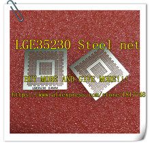 Free Shipping!!! LGE35230 LCD BGA steel mesh chip size steel mesh LGE35230 steel mesh Buy more and give more(China)