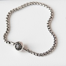 Thomas Style DIY Handmade Basic Bracelets for Beads European Silver Color Men and Women Jewelry Classic Untuk Wanita Bijouterie