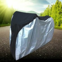 New Bike Rain Dust Cover Waterproof Outdoor Scooter Protector Gray For Bike Bicycle Utility Cycling  Outdoor Bicycle Protector