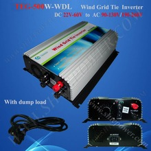 22-60v DC to AC 500w grid tie wind grid connected inverter