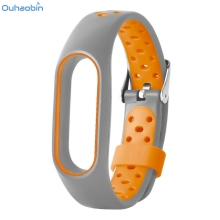 Buy Ouhaobin Smart Wrist Strap WaterProof Lightweight Ventilate TPE Watch Strap Wristband Bracelet Xiaomi Mi Band 2 Straps Dec4 for $2.34 in AliExpress store