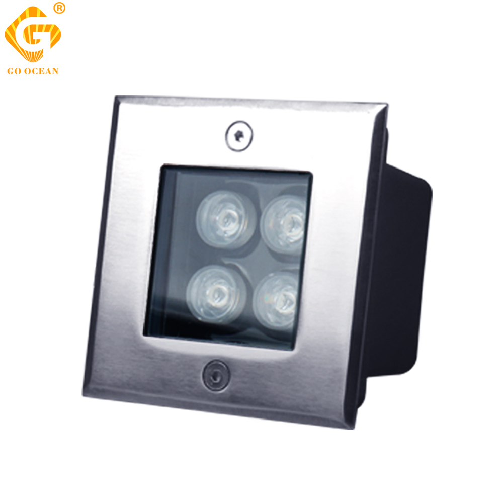 Amazing Floor Recessed Light Underground Lamps LED Buried Lights 3W 4W 5W 6W 9W 12W  16W Outdoor Spot Ground Step Lamp Garden Lighting   Shop For Solar Products  Here