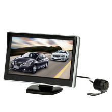 5 Inch TFT LCD Display Car Monitor Car Rear View Reverse Camera Backup Reverse System + HD Parking Camera
