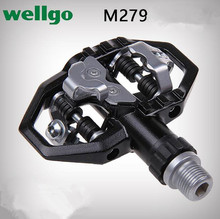Wellgo M279 Bearing Aluminum/alloy Bike Pedals Bicycle Pedales MTB Parts Spd Repuestos Bicicletas Ciclismo Time-limited