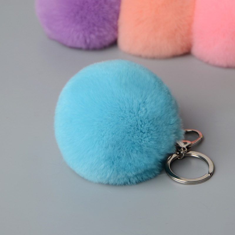 rex rabbit pompom keychbains (7)