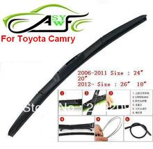 auto car windshield wiper blade for Toyota Camry Car Wipers Blades,Natural Rubber Wiper,Car Accessory/AUTO SOFT
