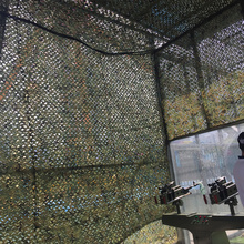 4M*9M Factory Wholesale Hunting Blinds Camouflage Net 150D Polyester Oxford Camping Hiking Shooting Hunting Blind Camouflage Net(China)
