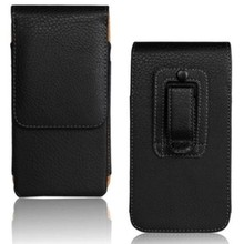 Belt Clip PU Leather Waist Holder Flip Pouch Case for Blackberry 9720/9790 Bold/9360 Curve/9370 Curve/9380 Curve Drop Shipping(China)