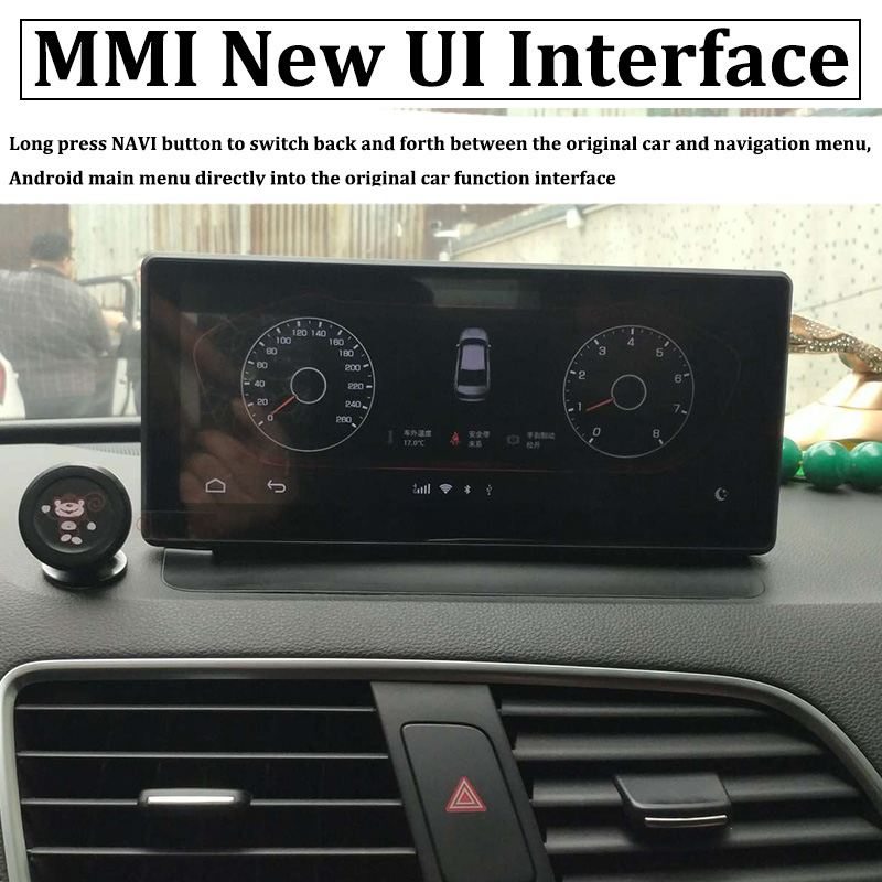 Liislee Car Multimedia Player NAVI 10.25 inch For Audi Q3 8U 2011~2018 Riginal Car MMI Style Radio Stereo GPS Navigation