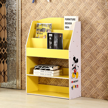 Magazine Racks Office Furniture home Commercial Furniture 80*24*110cm wood panel  Bookcase bookshelf children magazine rack 2016