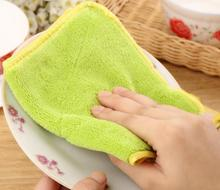 Kitchen Towel Dish Towel Toalha Super Microfiber Fabric  Double-side Car Glass Floor Cleaning Home Furniture Hand Towel