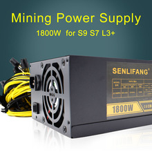 6PIN*18 Antminer APW3++-12-1800-A3 BITMAIN APW3+ PSU Series,ETH PSU,antminer S9 S7 L3+ PSU for 1800W Mining Power Supply(China)