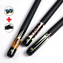 Billiard Pool Cue Stick 13mm/ 11.5mm/10.5mm Tips Glove and Chalks As Gifts China(China)