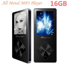 Aluminum Alloy MP3 Player 16gb with Built-in Speaker hifi player hifi Speaker fm IQQ X08 mp-3 Music mp3 Player 16gb mp 4 walkman(China)