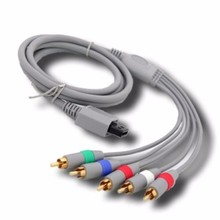 10pcs For Nintendo Wii U Premium Replacement Component RCA Audio Video AV Cable Cord HDTV