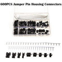 Wire Cable Male & Female 600PCS  Butt Electrical Jumper With Pin Header Connectors Set Crimp Pins Housing Sockets Kit