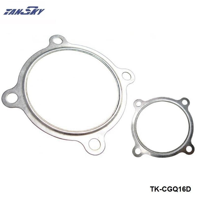 """TANSKY -10PCS/LOT  3"""" 4 Bolt Turbo - Downpipe Iron material Gasket Fits GT30 GT35 Turbochargers  TK-CGQ16D"""