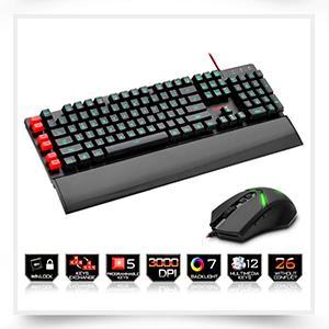 Redragon Gaming mechanical keyboard RGB full color LED backlit keys Full key anti-ghosting 87 keys USB wired PC Computer Game