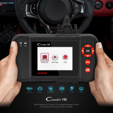 Launch CReader VIII Code Reader X431 Creader 8 Support 4 System Engine Transmission ABS Airbag Update Online Creader crp129(China)