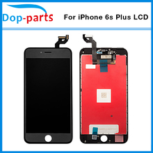 China Supplier For iPhone 6s plus LCD Display Touch Screen LCD Assembly Digitizer Glass lcd Replacement + tools + tempered glass(China)