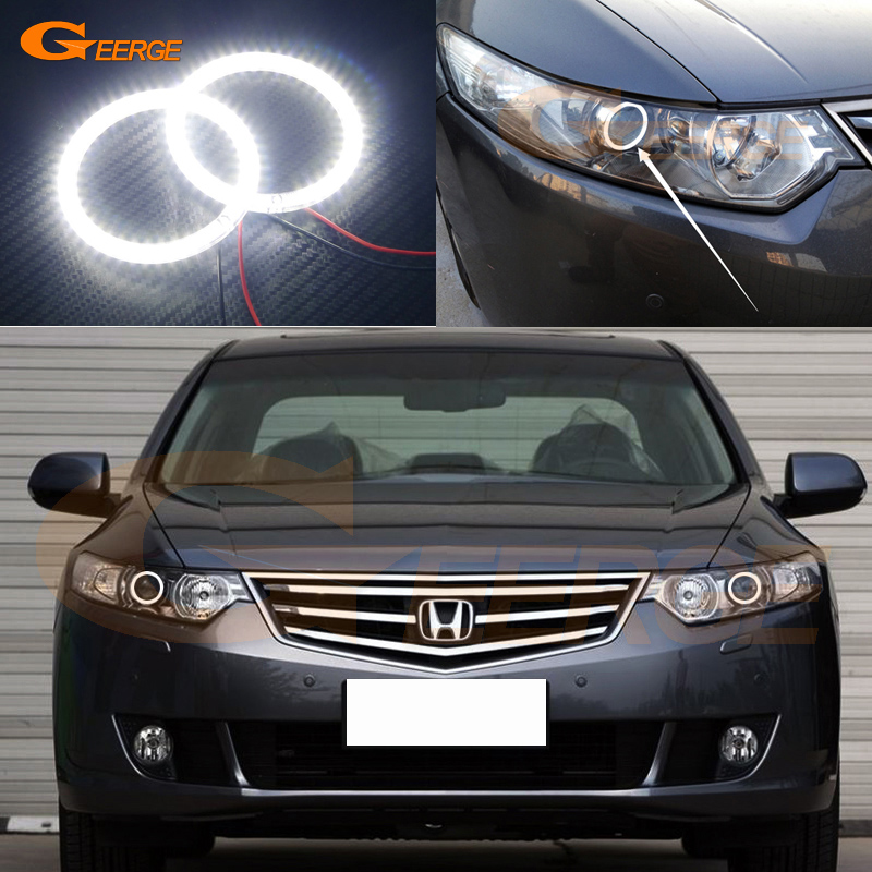 For Honda SPIRIOR 2009 2010 2011 2012 2013 Excellent Angel Eyes Ultra bright illumination smd led Angel Eyes Halo Ring kit<br>