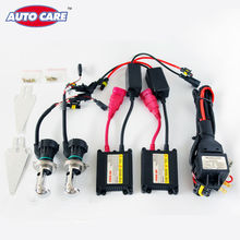Auto Care 55W Bi Xenon H4 9004 9007 H13 HID Headlights Car Lamp Conversion Kit H4 High/Low Beam 2PCS Ballasts Color Box Packaged