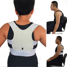Magnetic Corset Back Posture Corrector Brace Back Shoulder Support Posture Correction Belt for Men Women Students