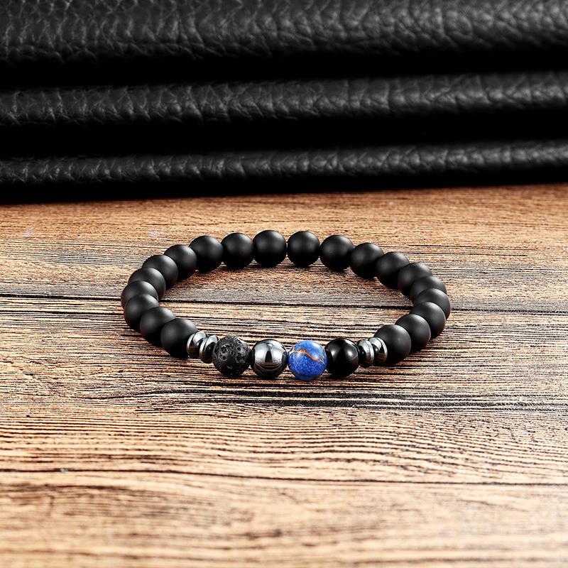 Bracelet en pierre naturelle pour changer de style