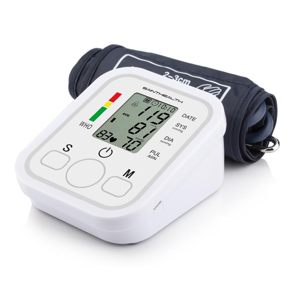 جهاز الرعاية الصحية المنزلية لقياس ضغط الدم ورصد ضربات القلب 6