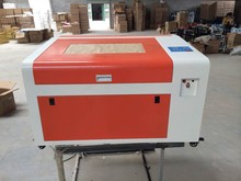 6040 50W CO2 laser engraving machine 220V/110V 50W tube laser CNC router with rotary axis